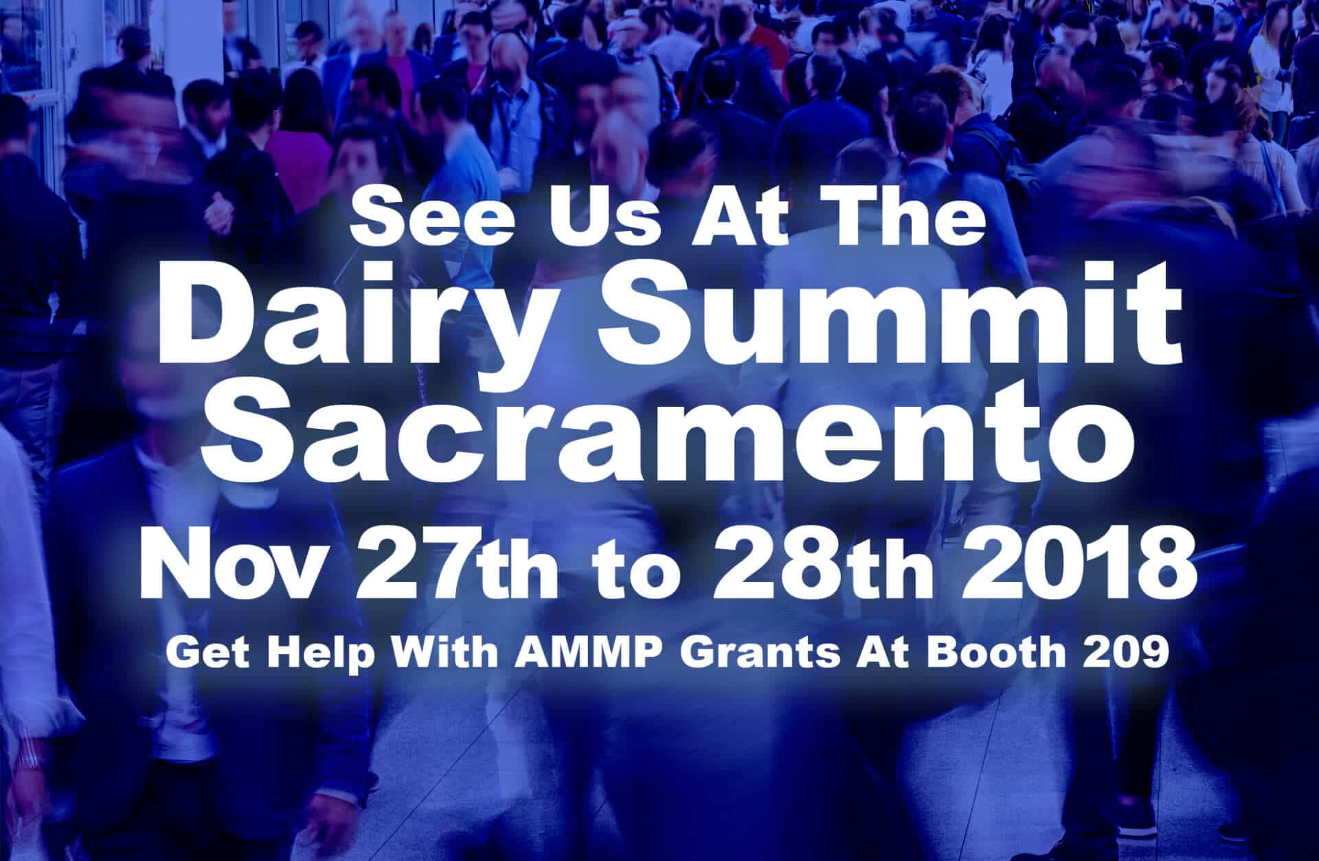 Dairy Summit in Sacramento
