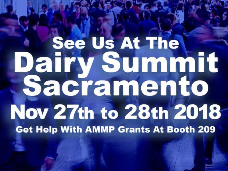Dairy Summit in Sacramento